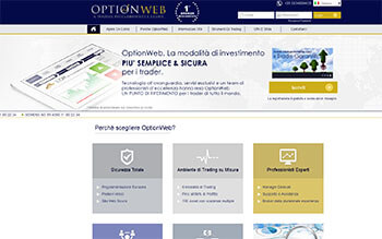 Optionweb screenshot